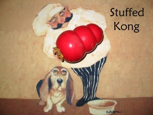 Stuffed kongs